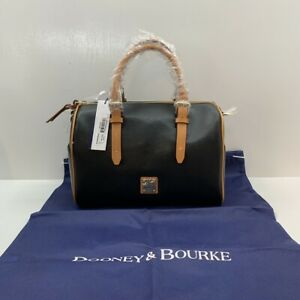 Dooney & Bourke BFAIR5893 Fairview Olivia Satchel Black Leather NWT & Dustbag