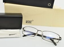 Montblanc Occhiali Mod. MB 246 col. 008 Deluxe eye frame Italy Coal LUNETTES OVP