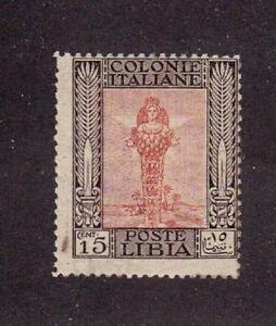 Libya stamp #24, MNHOG, wmk. 14, SCV $210.00