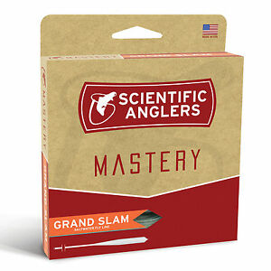 SCIENTIFIC ANGLERS MASTERY GRAND SLAM WF-10F #10 WT SALTWATER FLOATING FLY LINE