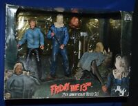 NECA Friday the 13th 25th Anniversary Boxed Set Jason Voorhees Sealed Figures
