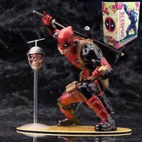 NEW Kotobukiya 1/10 52 Marvel Legends Deadpool Artfx Statue Action Figures Toy
