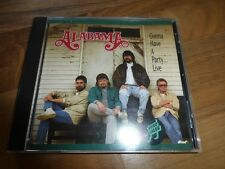 Alabama - Gonna have a party tonight ...Live, CD