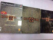 GOD OF WAR II EDIZIONE SPECIALE PS2 PLAYSTATION 2 PAL USATO