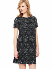 Marks and Spencer Crew Neck Regular Floral Dresses for Women