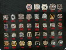 ALL NHL 1955 Canadiens to 2019 St. Louis Blues Stanley Cup Team Ring Fan Gift