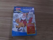 CHRISTMAS FUN MUSIC CD & DVD SET OVER 2 HOURS OF SONGS/VIDEOS BY FISHER PRICE