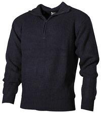 Neu Troyer Pullover mit Reißverschluss Größe S M L XL XXL 3XL Arbeitsbekleidung