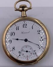 E Howard Series 7 1908 12 Size 17 Jewel Gold Filled Pocket Watch