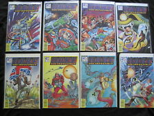 (Dan) DARE, the IMPOSSIBLE :issues 1,2,3,4,5,6,7,8. 1991 Fleetway/Quality SERIES