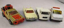 Vintage Matchbox Corgi Majorette década de 1970 & 80' Bundle-camiones-Pick Up
