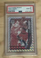 2019 Panini Mosaic Swagger #7 Trae Young Hawks RC Rookie PSA 10 GEM MINT