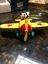 New listing Walt Disney ~ Mickey Mouse Aviator Toy ~ Metal Plane ~ Vintage