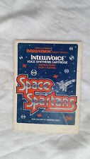 **manuel seul - manual only** SPACE SPARTANS - Intellivision