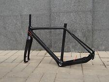 UD 3k Carbon Matt Glossy Road Cyclocross Bike Frame 51cm 53cm 55cm Bicycle Fork