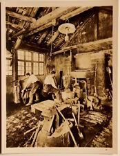 7x9 Photo Alte Schwarzwalder Sensenschmiede mit Wasserhammer 1803