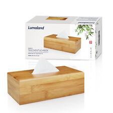 Kosmetiktücherbox Bambus Kosmetikbox Tuch Box Taschentuchbox Kosmetiktuchspender