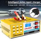 12V/24V 200AH LED Intelligente Eléctrico Cargador De Batería Para Coche Van Auto
