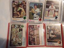 1973 TOPPS ASSORT STAR CARDS #350, 330, 320, 175, 255, 370, 142, 280, 300, 165