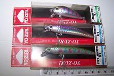 YO-ZURI FISHING LURES LOT OF 3 PIN'S MINNOW & L-MINNOW.  New. Trout, Bass, Cod.*