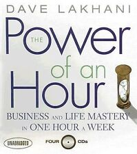 NEW 4 CD Power of an Hour Business and Life Mastery in One Hour Dave Lakhani