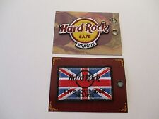 """HARD ROCK CAFE PATCHES PRAGUE COMBO """"2"""" IRON ON PATCH + TWO POST CARDS #87F"""