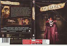 DVD * Amusement * 2008 New Line Cinema Issue - Cult Horror Thriller - Pal R4
