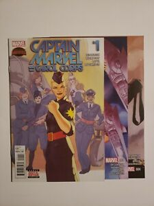 Captain Marvel and the Carol Corps #1, 3, and 4 (9.2, NM-) * 3 Book Lot *