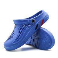 Mens Shoes Summer Beach Leisure Big Size Hollow Slipper Sandals Sport Plastic