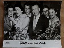 Aushangfoto VATER UNSER BESTES STÜCK Heidi Brühl Hardy Krüger