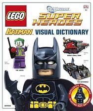 DC UNIVERSE SUPER HEROES LEGO BATMAN VISUAL DICTIONARY HARDCOVER PLUS MINIFIGURE