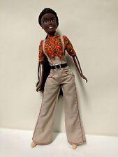 Barbie type fashion doll - African-American - Kenya - Prettie Girls clothing -