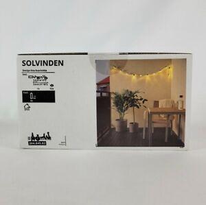 Ikea Solvinden LED Outdoor String Light with 12 Lights 204.845.82