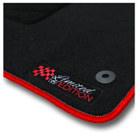 Auto-Fußmatten Limited Red für Mercedes Benz SLK-Klasse R171 2004 - 2011