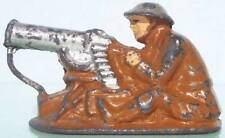 All Nu Hollow Cast Lead Ww1 American An2 Seated Machine Gunner 86 To 87%