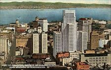 San Francisco California USA AK 1950/60 Part of Financial District Russ Building