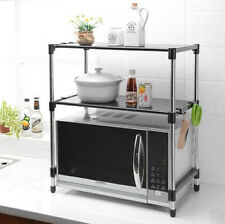 Kitchen Bathroom Laundry Storage Rack Shelf Cupboard Microwave Shelves KRB2 S2