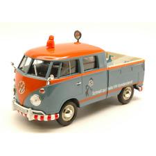 VW TYPE 2 (T1) 1965 PICK UP + ACCESSOIRES VW KUNDENDIENST 1:24 MotorMax