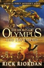Heroes of Olympus: The Lost Hero by Riordan, Rick Hardback Book The Cheap Fast
