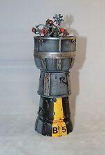 Échelle 28mm wargames watch tower daemonscape SCI-FI