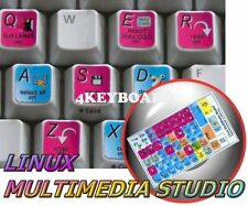 Linux MM Studio keyboard stickers