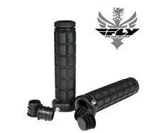 "Fly Racing Grip Lock Grips BMX Dirt Jumping VERT Race Handlebar 20"" 24"" Cruiser"