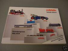 Märklin Catalogo 1992/93 Nuovo/Non Letto + novità 2015/dal Märklin-caricamento