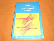 jung la psicoanalisi e freud fratelli melita 1981