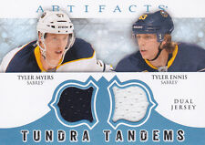 12-13 Artifacts Tyler Myers Ennis Jersey Tundra Tandems Sabres 2012