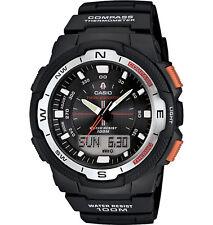Casio Men's Ana-Digi Black Resin Multifunction 46.5mm Watch SGW500H-1BV