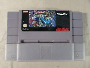 Super Nintendo SNES TMNT IV Turtles In Time