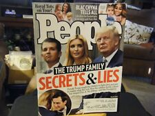 People Magazine - Trump Family Secrets & Lies Cover - July 31, 2017