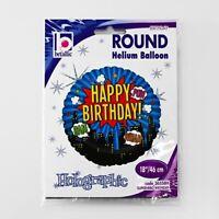 "Attractive & Super 18""Superhero Birthday Balloon, Helium Balloon, Best for Party"