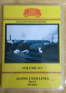B & R 113 DVD Along LNER Lines Part 2 Railways video
